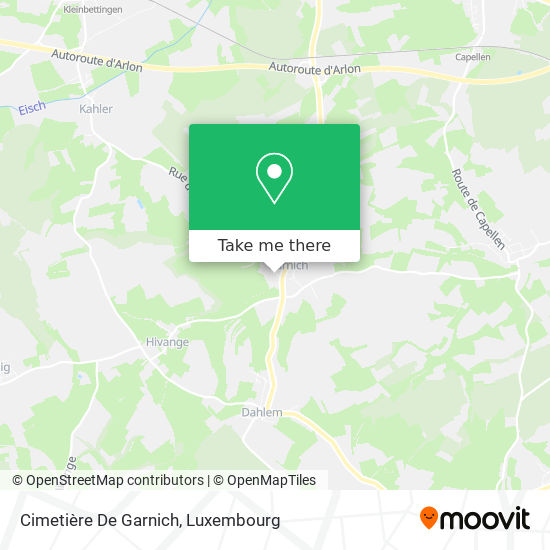 Cimetière De Garnich map