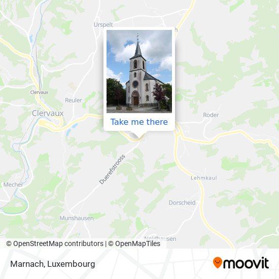 Marnach map