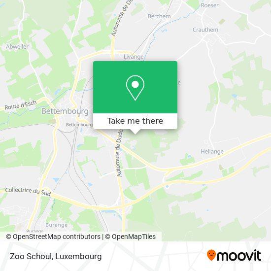 Zoo Schoul map