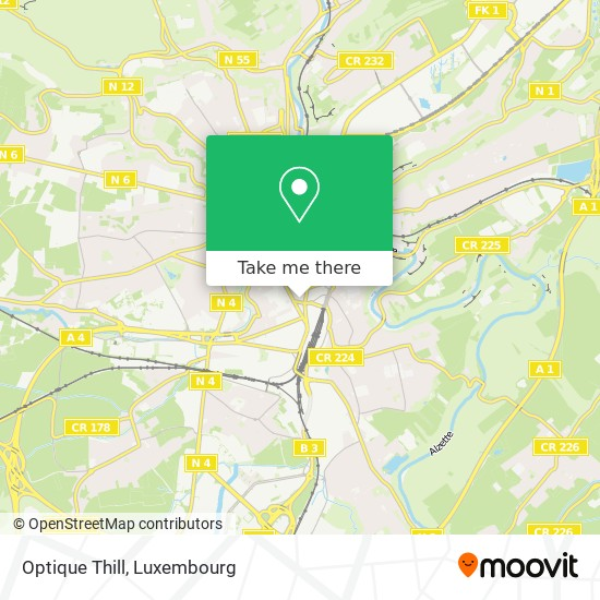 Optique Thill map