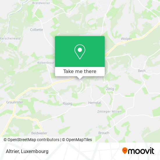 Altrier map