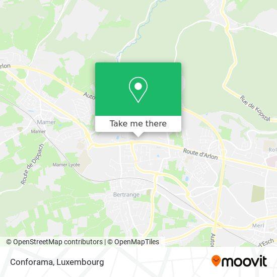 Conforama map