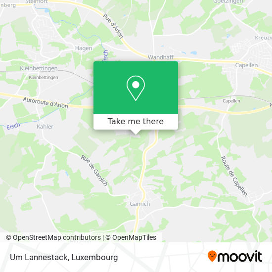 Um Lannestack map