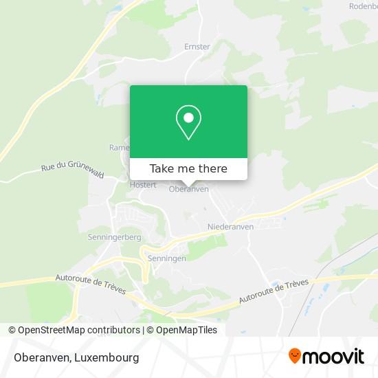 Oberanven map