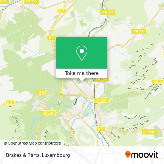 Brakes & Parts map
