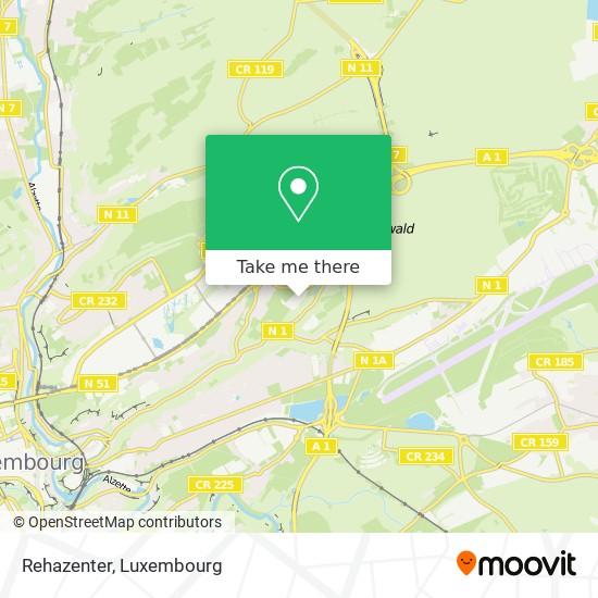 Rehazenter map