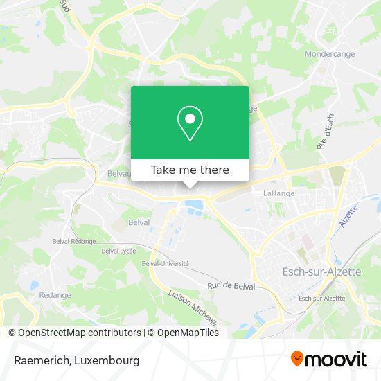 Raemerich map