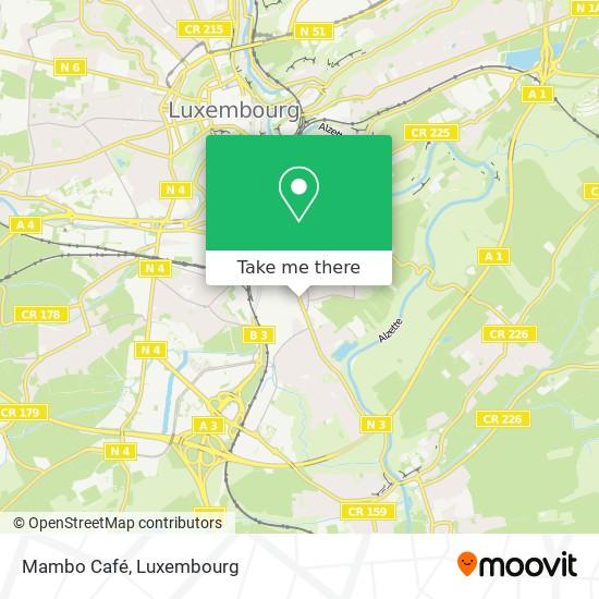 Mambo Café map