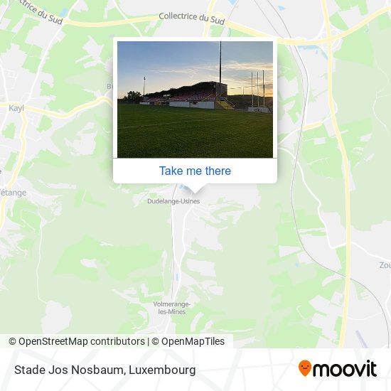 Stade Jos Nosbaum map