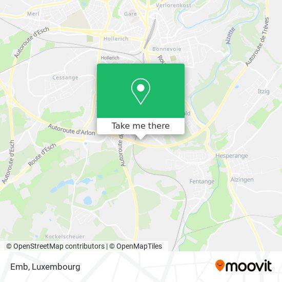 Emb map