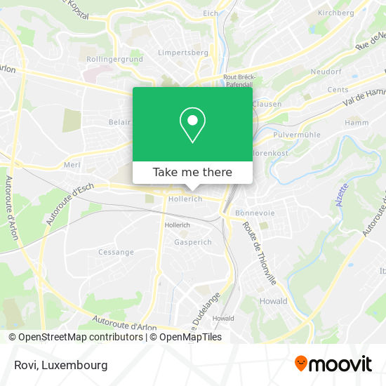 Rovi map