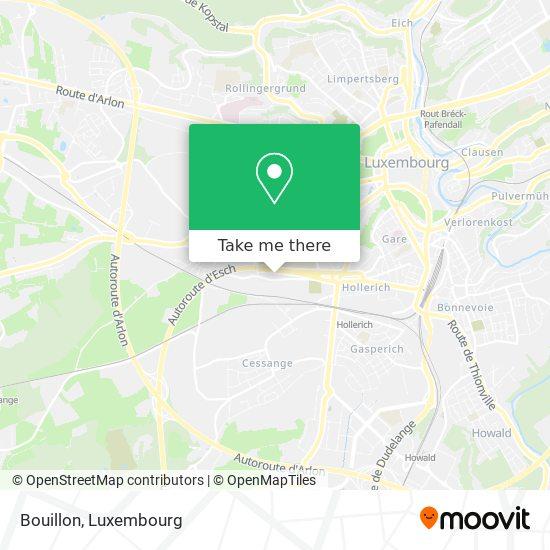 Bouillon map