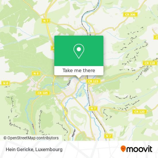 Hein Gericke map