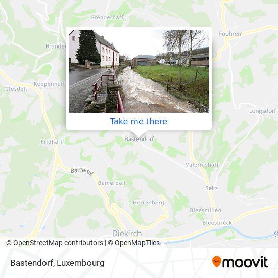 Bastendorf map