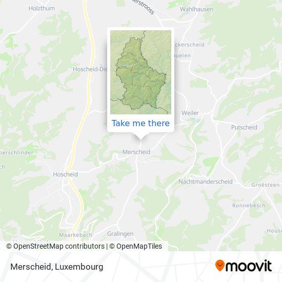 Merscheid map