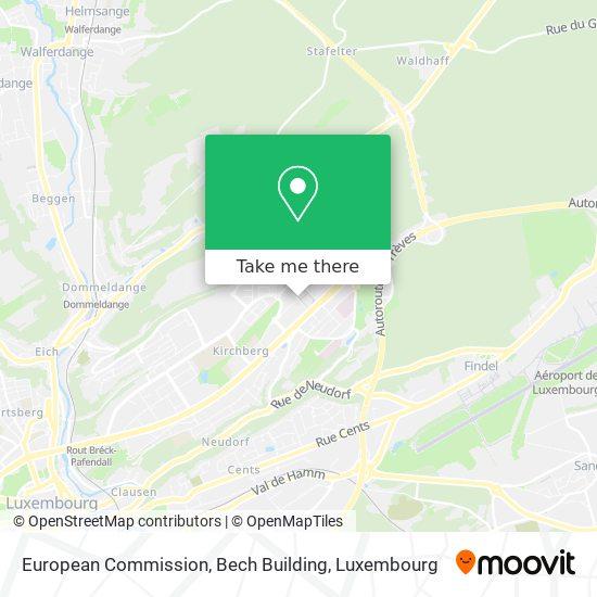 European Commission, Bech Building map