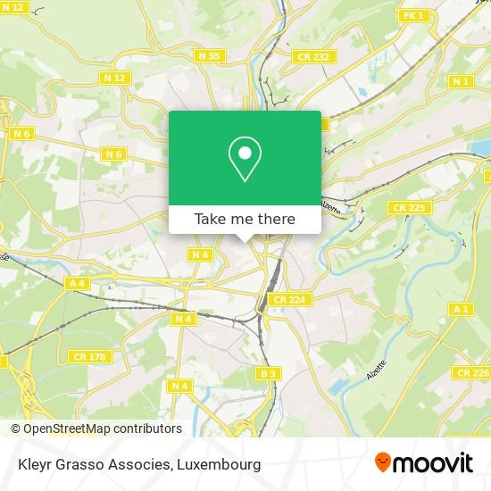 Kleyr Grasso Associes map