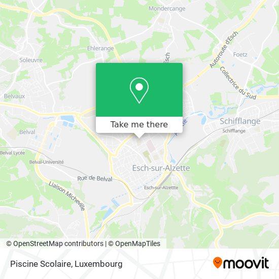 Piscine Scolaire map