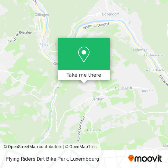 Flying Riders Dirt Bike map
