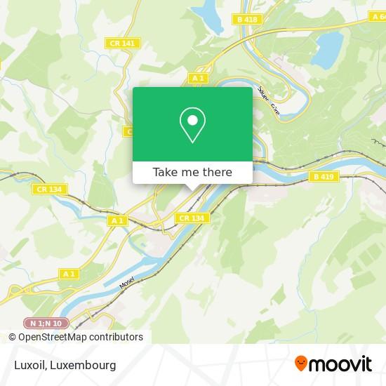 Luxoil map