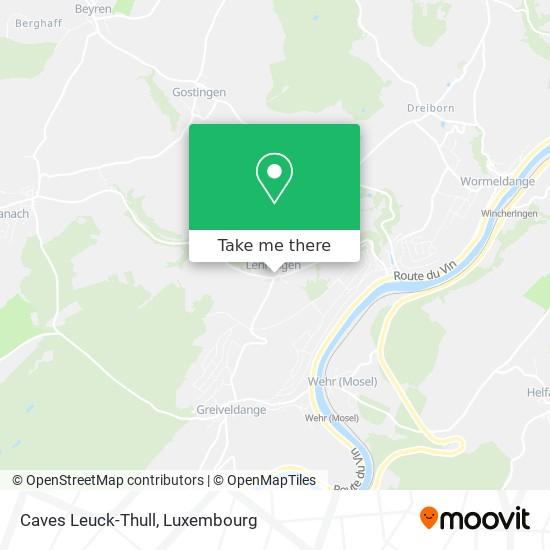 Caves Leuck-Thull map