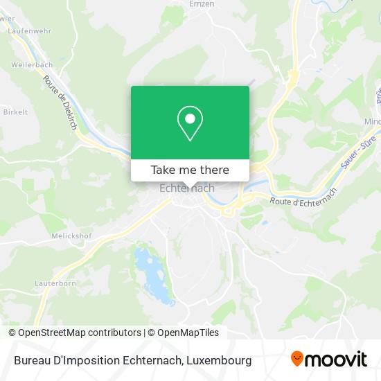 Administration Des Contributions Echternach map