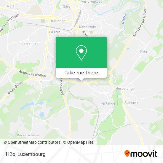 H2o map