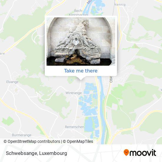 Schwebsange map