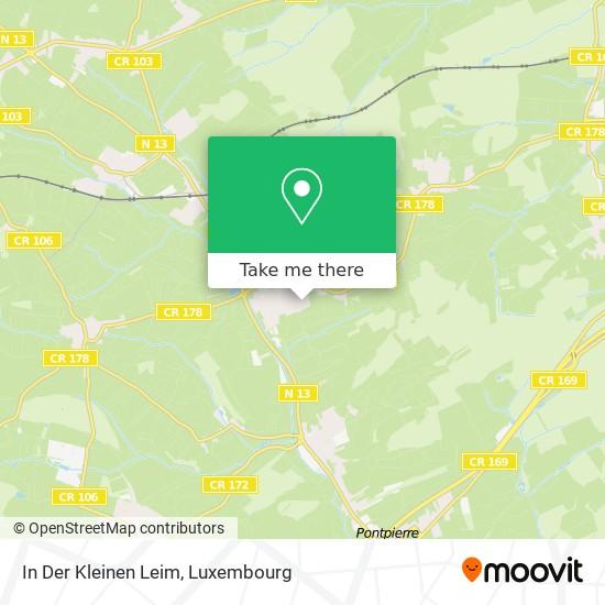 In Der Kleinen Leim map