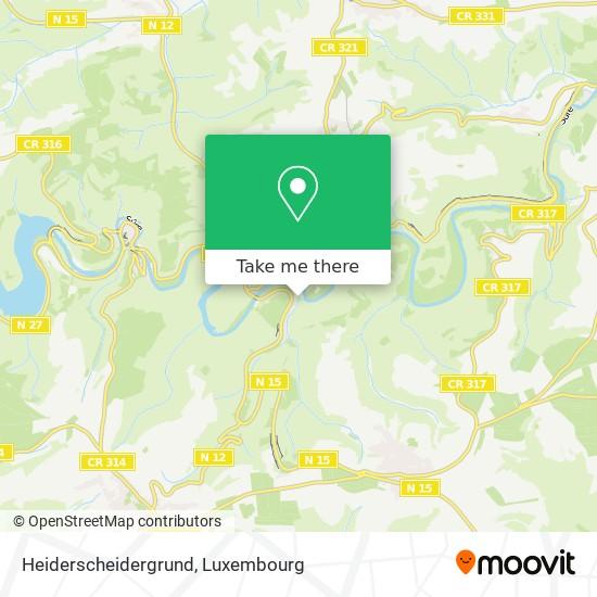 Heiderscheidergrund map