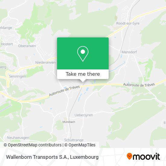 Wallenborn Transports S.A. map