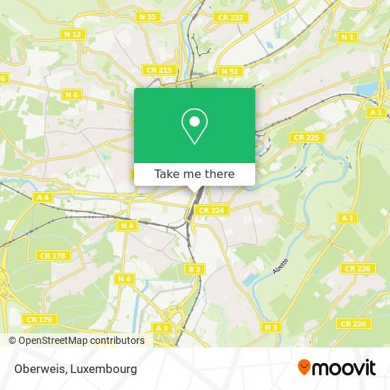 Oberweis map