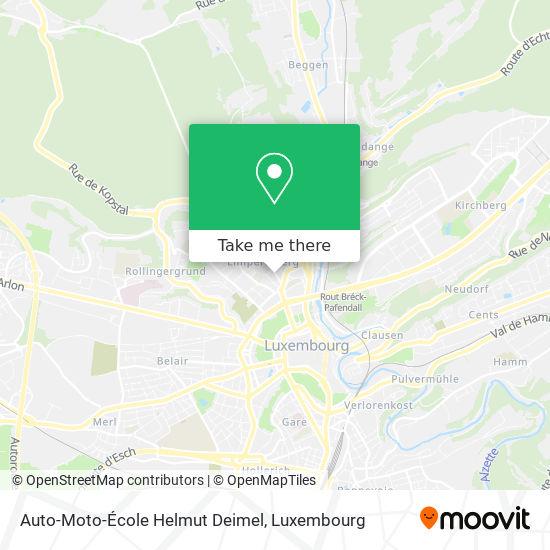 Auto-Moto-École Helmut Deimel map
