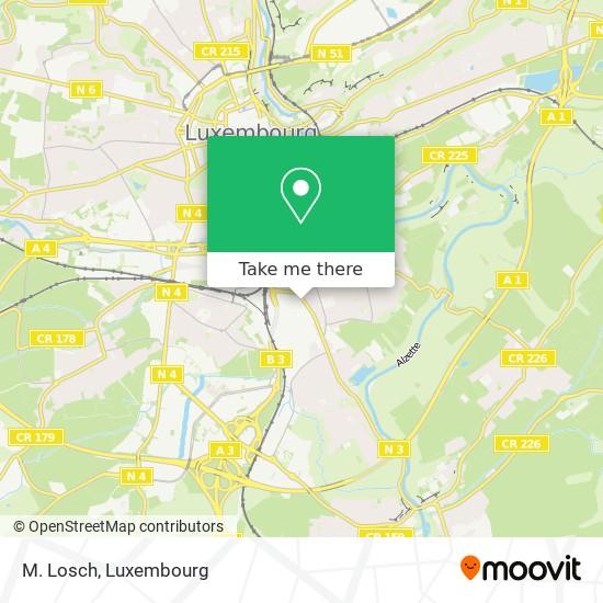 M. Losch map