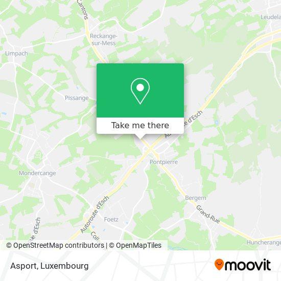 Asport map