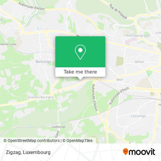 Zigzag map