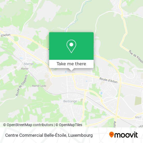 Centre Commercial Belle Etoile map