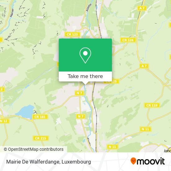 Mairie De Walferdange map