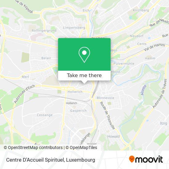Centre D'Accueil Spirituel map