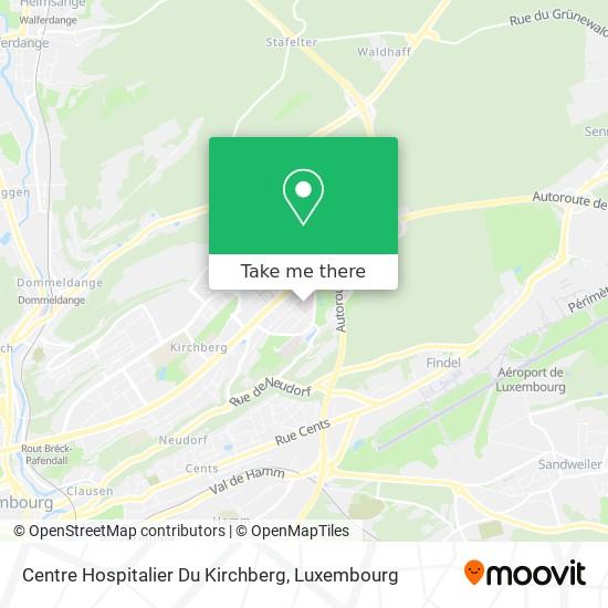 Centre Hospitalier Du Kirchberg map