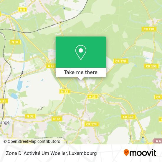 Zone D' Activité Um Woeller map