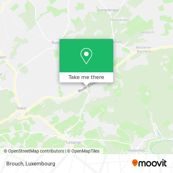 Brouch map