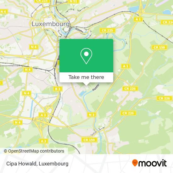 Cipa Howald map