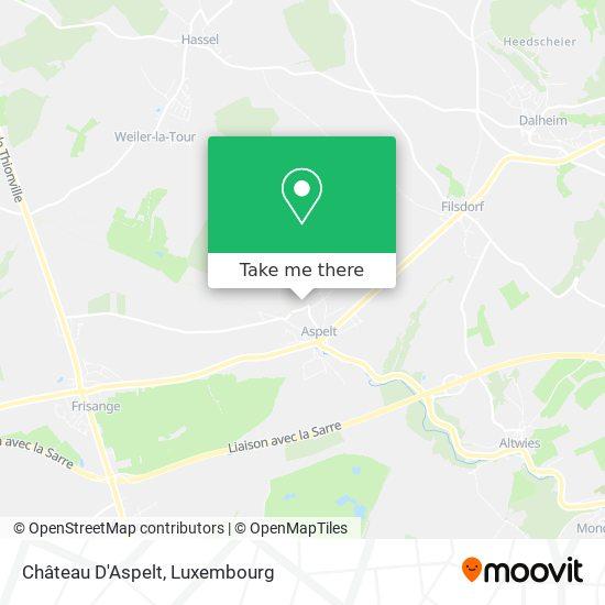 Château D'Aspelt map