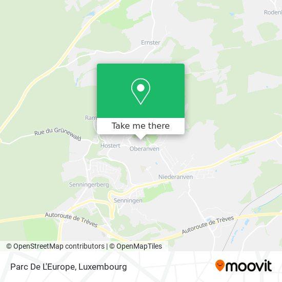 Parc De L'Europe map