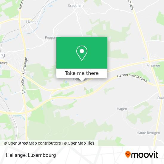 Hellange map