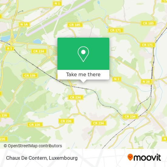 Chaux De Contern map