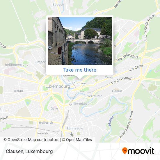 Clausen map