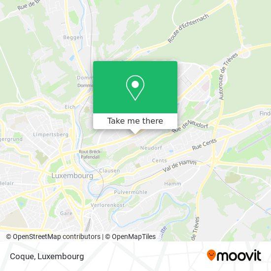Coque map