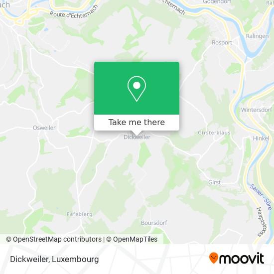 Dickweiler map